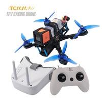 TCMMRC racing fpv drone kit Mit fernbedienung fpv gläser 2306 2450KV 5 Zoll 30A ESC FPV Racing Drone RC qudcopter