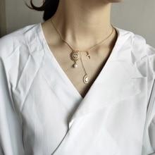 цена Elegant Diamond Pendant Necklace 925 Sterling Silver Sun Goddess Pearl Cross Necklace 18k Gold Necklace For Women Fine Jewelry онлайн в 2017 году