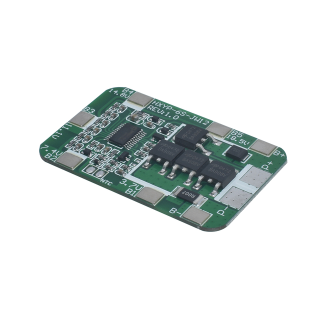 6S 15A/25A 24V 25.2V PCB BMS Protection Board For 6 Pack 18650 Li-ion Lithium Battery Cell Module New Arrival 2