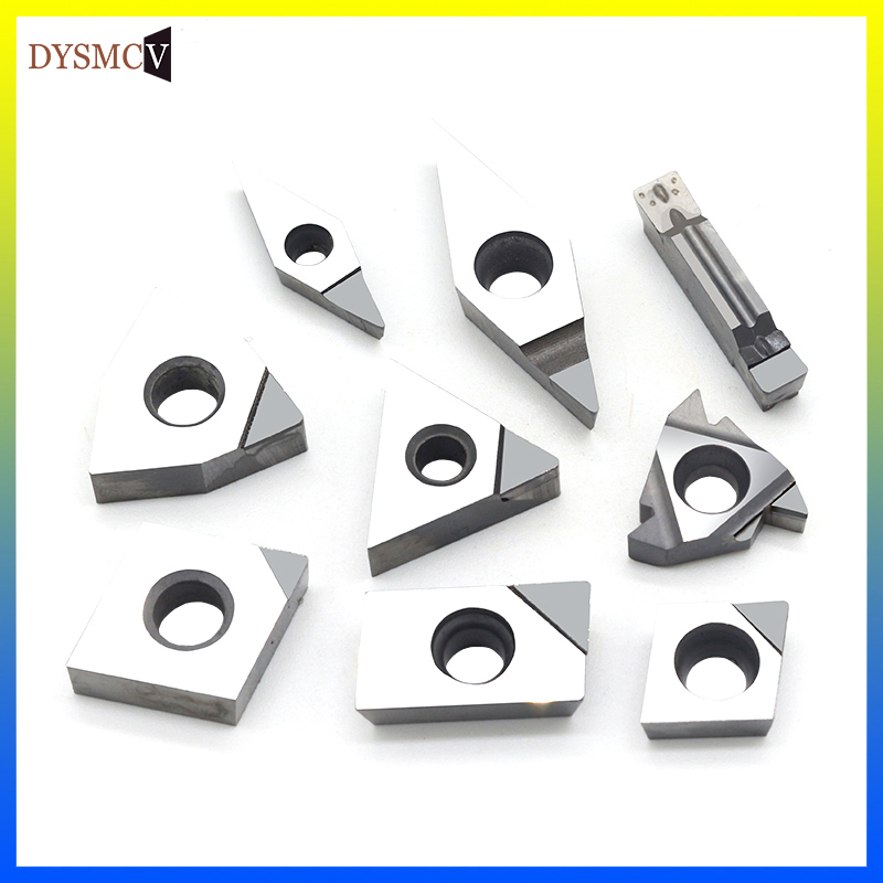2pcs  MGMN300 PCD  Used for Aluminum  Polycrystalline diamond tools PCD