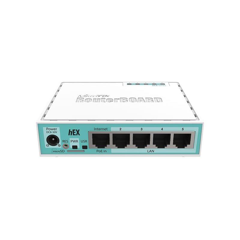 MikroTik RB750Gr3 Hex ROS 5-Port Mini Router 5x1000Mbps Ports RouterOS L4 1