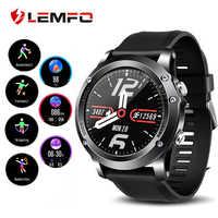 LEMFO T5 inteligentny zegarek sportowy IP67 wodoodporna tętno monitor tlenu i tętna smartwatch fitness z nadajnikiem mężczyźni kobiety dla Android