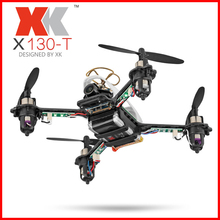 цена на WLtoys Original XK X130-T 5.8G FPV 3D/6G Mode Racing Drone with HD Camera 2.4G 4CH Carbon Fiber Frame RTF Mini RC Quadcopter