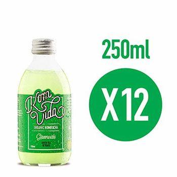 Komvida Kombucha Pack Greenvida 12 bouteilles de 250 ml