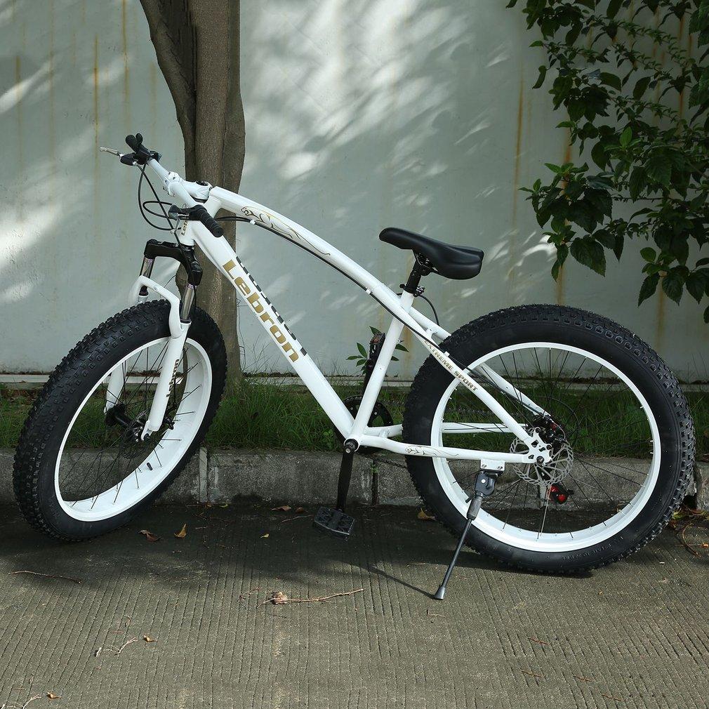 26X21 Inch 7 Speed Snow Bike Double Disc Brake Bicycle Steel Frame Bike