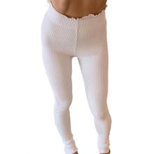 New Trousers Women High Waist Casual Pants Female Stretch Pencil Pants Leggings Sport Women Fitness Solid Color Sport Leggings leggings modis m182s00006 pants capris trousers for sport casual for female for woman tmallfs