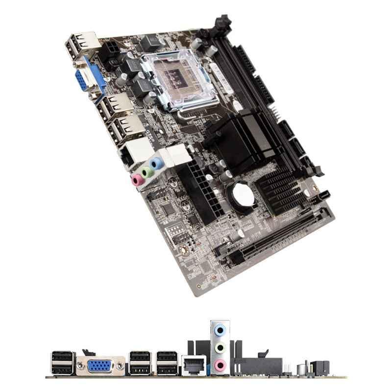 G41 قطعة LGA775 الكمبيوتر المكتبي اللوحة DDR3 مزدوجة USB 2.0 LGA 775 اللوحة الأم