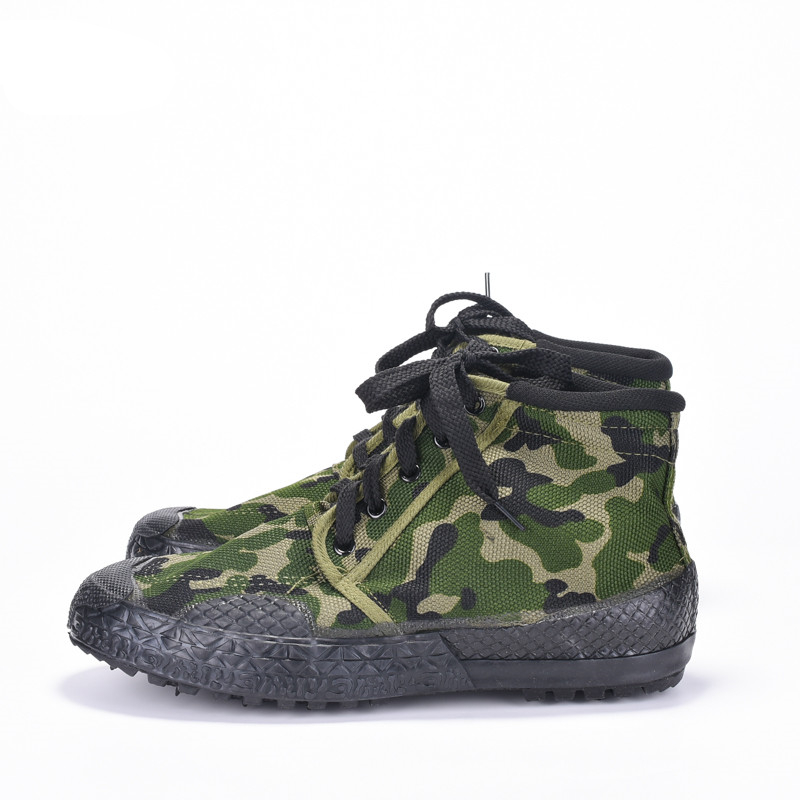 High Quality Men Military Boots Jungle Combat Army Boots Wear Resistant Work Shoes Men Camouflage Canvas Shoes Men Sneakers