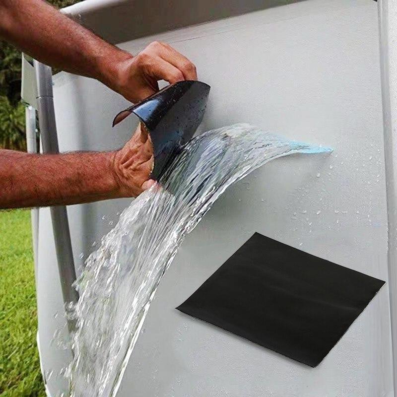 Сверхпрочная водонепроницаемая лента для предотвращения утечек, ремонтная лента для уплотнения, эффективная самоклеящаяся лента, волокон...