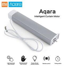 Xiaomi Aqara Zigbee умный занавес Мотор Интеллектуальный Wifi умный дом устройство беспроводной пульт дистанционного управления с Amazon Alexa Google drop