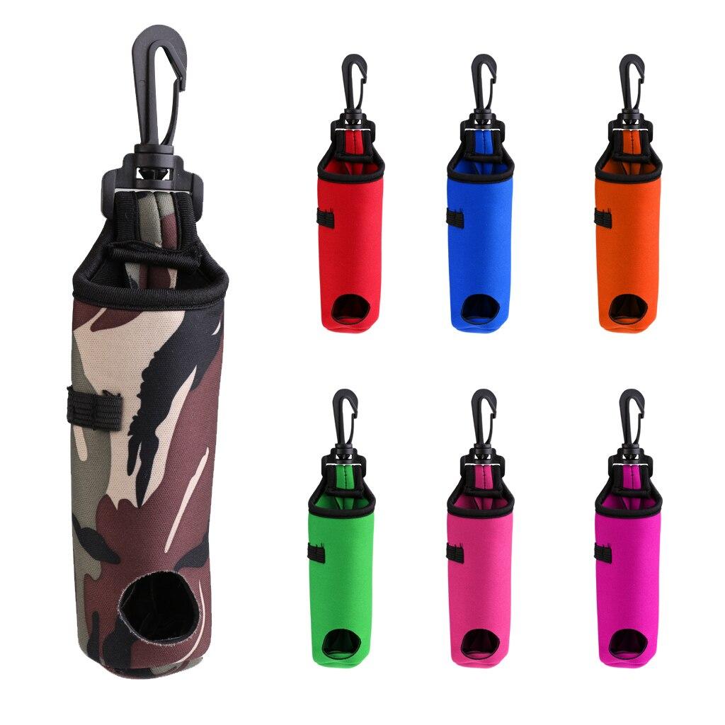 Portable Neoprene Golf Balls Tees Holder Carry Bag Carrier Pouch Waist Belt Bag Golf Ball Holder Tee Holder Golf Accessories