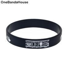 1 шт Цельный силиконовый браслет с напечатанным логотипом для