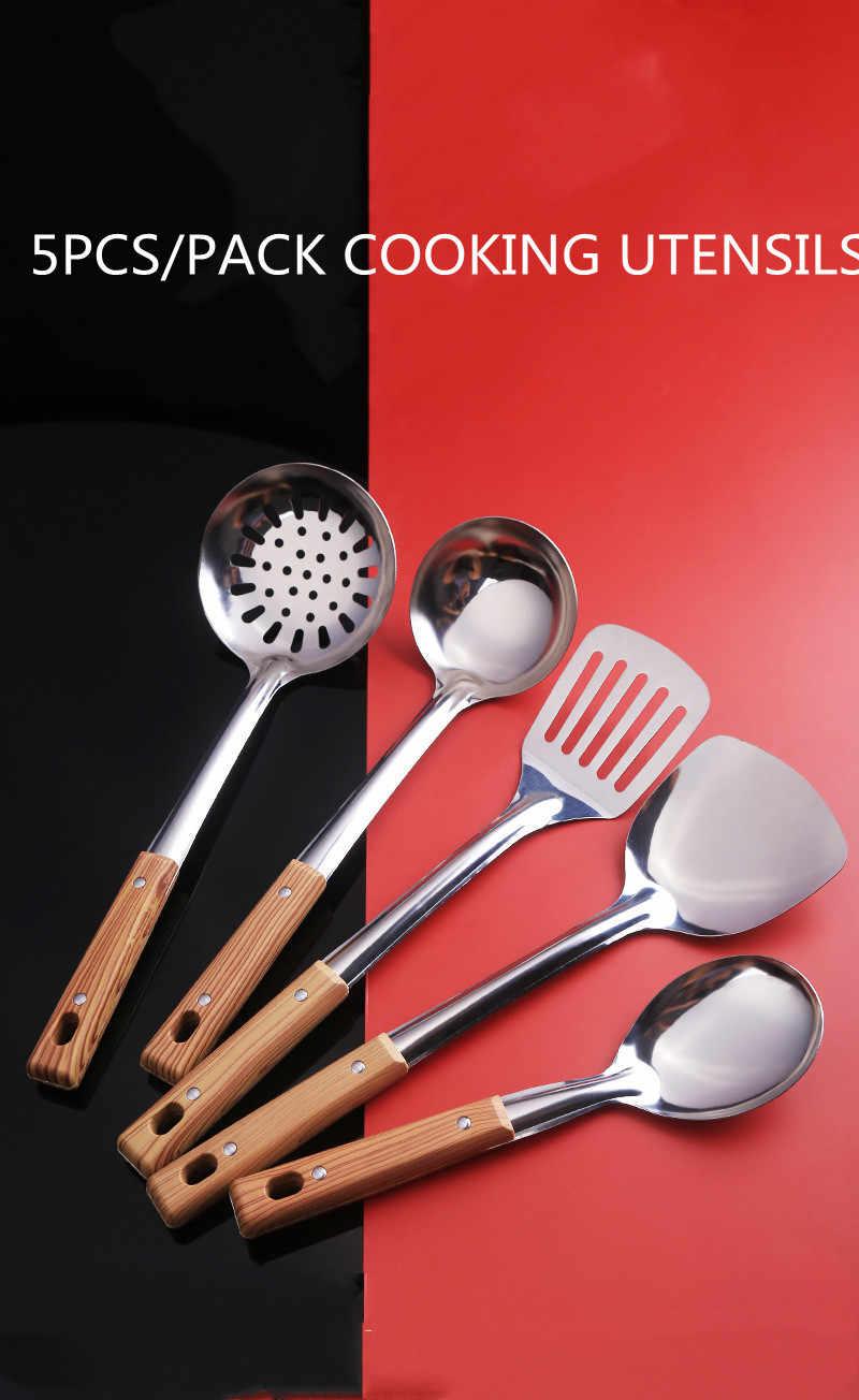 Stainless Steel Kitchen Cooking Spatula Fried Beef Steak Baking Shovel Supplies