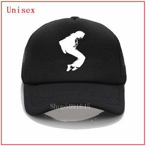 Michael Jackson blanc papa chapeau 100% coton broderie casquettes de Baseball unisexe casquettes hommes femmes vacances chapeaux cool casquettes