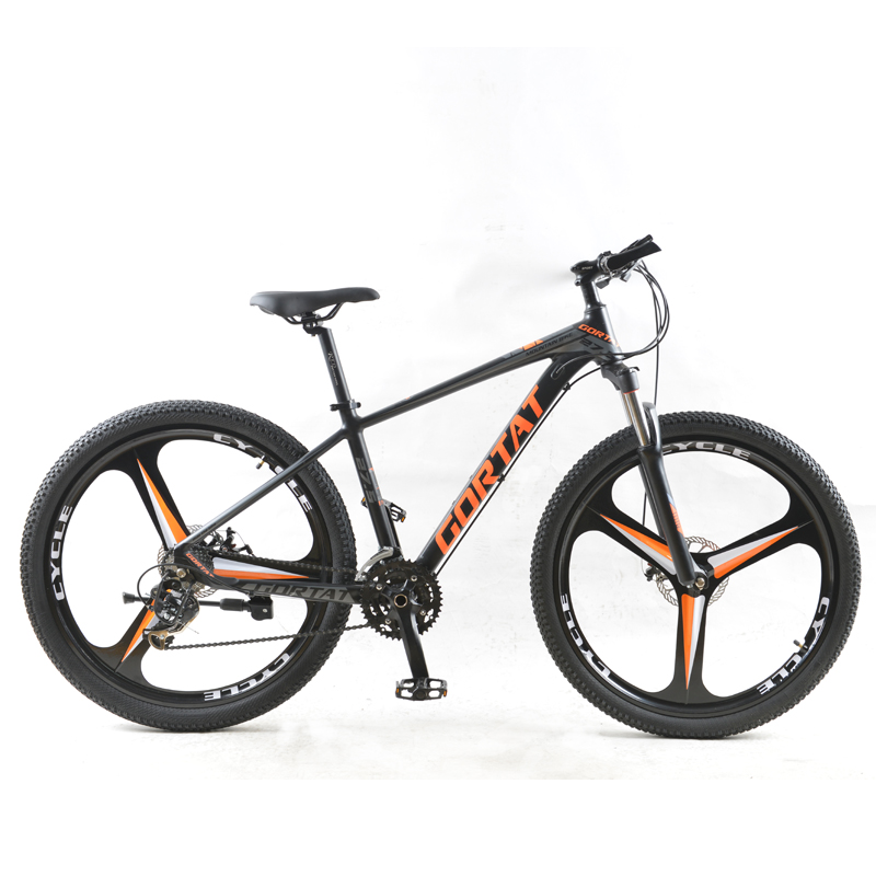 GORTAT Bicycle Aluminum Mountain Bike 27.5 Fat Bike 24 Speed 3 Cutter Wheels Bicycles The Road Bikes Mtb Dual Disc Brakes