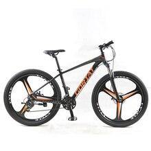 GORTAT Bicycle aluminum Mountain bike 27.5 Fat bike 24 Speed 3 cutter wheels