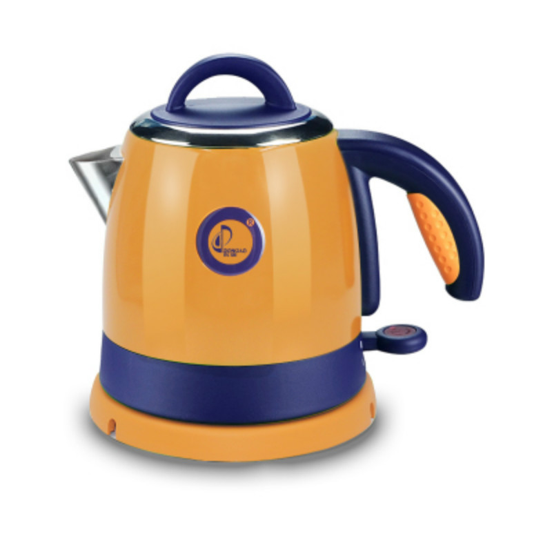 Чайник с автоматическим отключением, из нержавеющей стали, с быстрым нагревом и разъемом 0,8Л, 1000 Вт, вилка стандарта ЕС и США