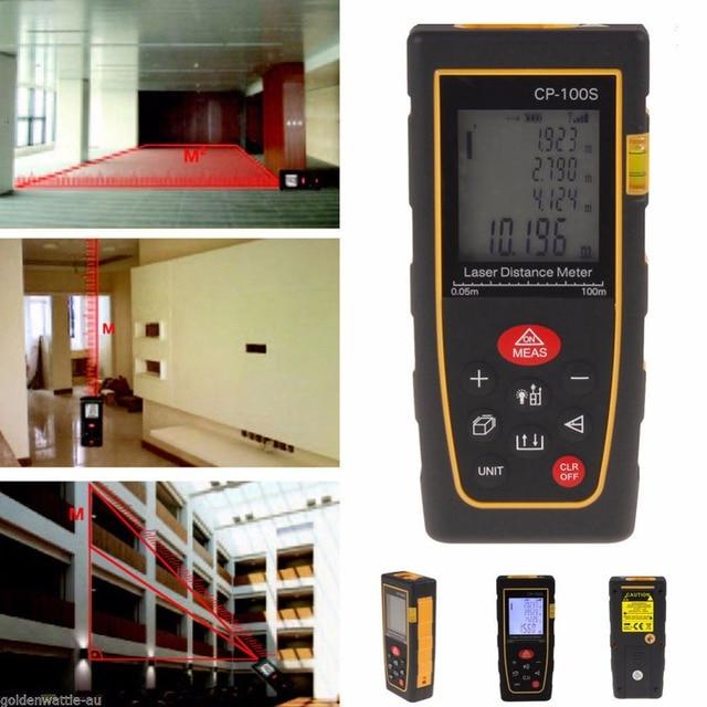 laser distance meter 40M 60M 80M 100M 120M 150M Laser rangefinder laser tape range finder measure metro tape 2