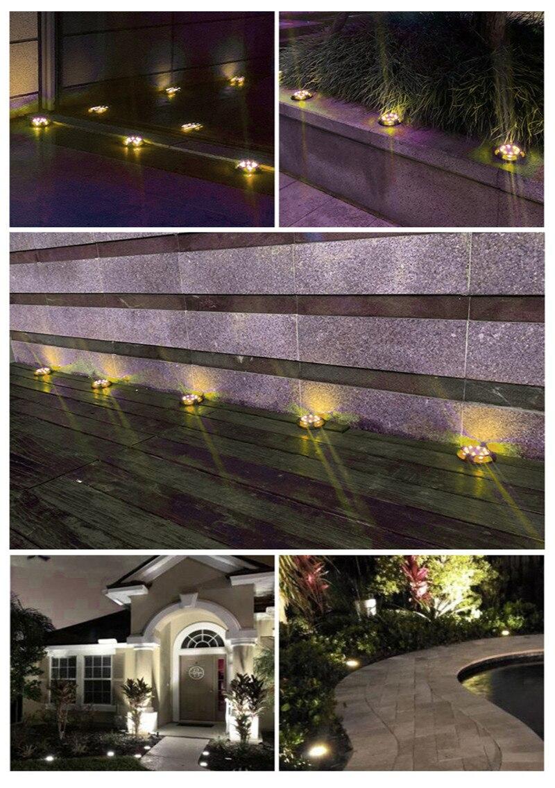 Купить солнечный ландшафтный светодиодный светильник s для лестницы