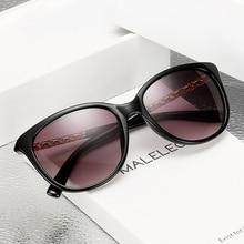 ZXRCYYL High Quality Sunglasses Women Luxury Brand Designer Fashion Metal fittings Round Big Frame Gradient Sun glasses