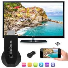 Mirascreen Tv Stick Smart Tv Hdmi Dongle Draadloze Ontvanger Dlna Airplay Miracast Airmirroring Pk Chrome Gegoten Voor Ios Android(China)