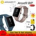 Versión Global Amazfit Bip Lite Smart Sports Watch 3ATM impermeable natación reloj 45 días batería información de vida recordatorio de llamadas