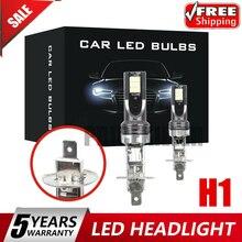 Lamp 2pcs H1 CAR LED Headlight Kits 110W 20000LM FOG Light Bulbs 6000K Driving DRL