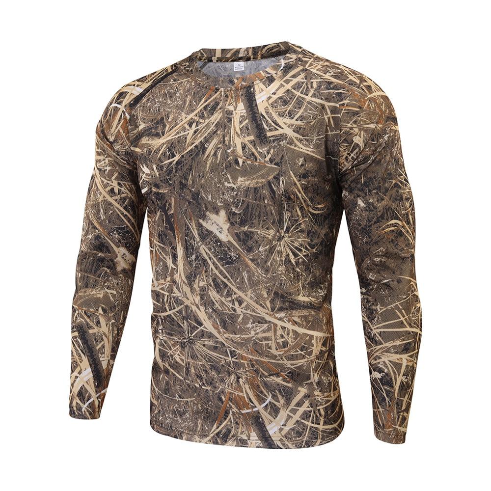 respirável caça acampamento camisas camuflagem do exército