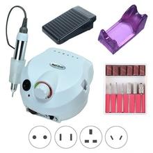 Electric-Nail-Drill-Machine Nail-Salon-Drill Manicure Pedicure Professional 35000RPM