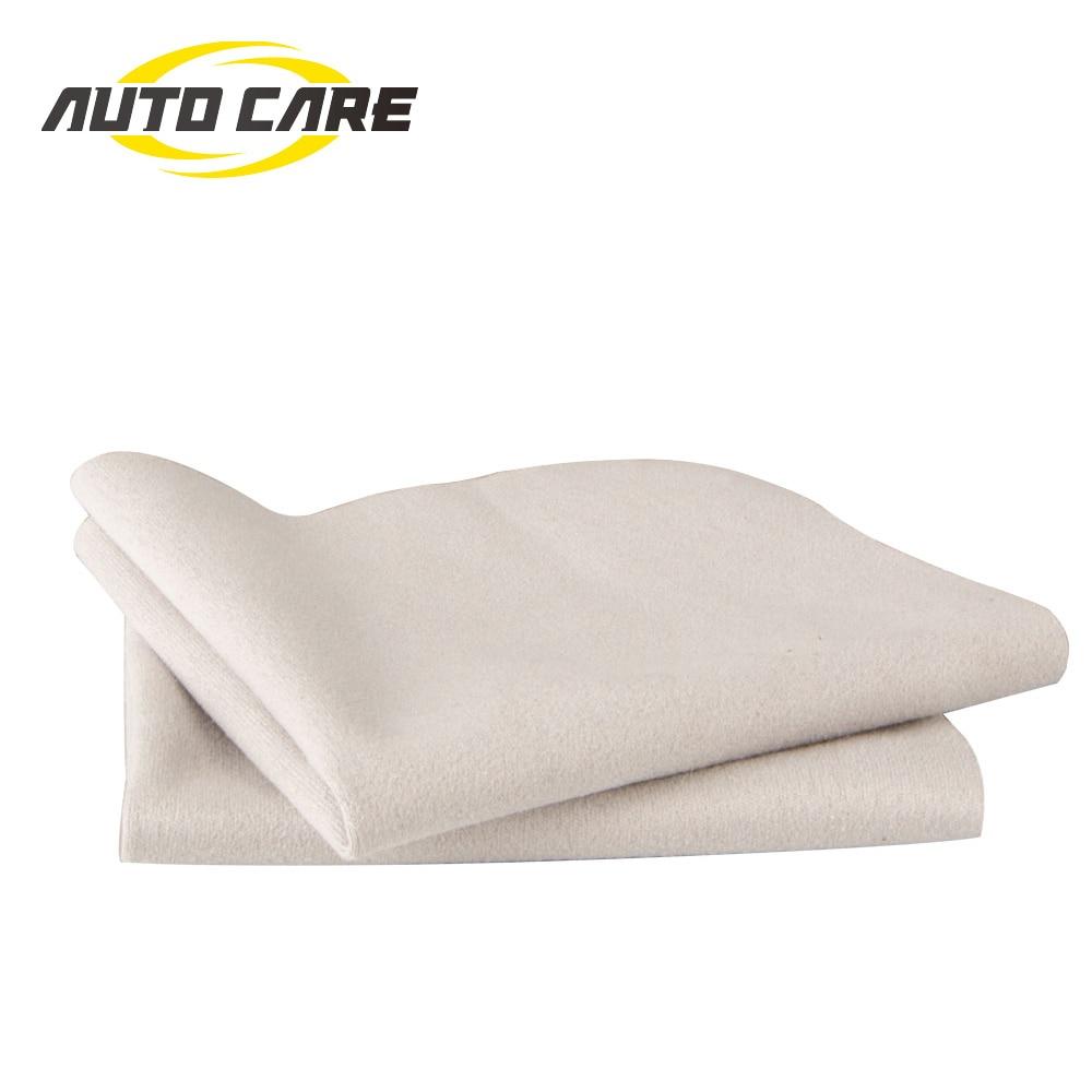 Высококачественное полотенце из замши 7 дюймов для чистки автомобильного лака, полотенце для мытья автомобиля, мягкая Чистящая деталь, поли...