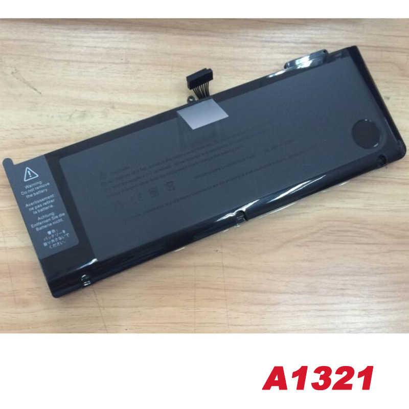 Dizüstü bilgisayar apple için batarya A1321 MC371 15 inç A1286 (orta 2010) A1286 orta 2009 sürümü ücretsiz hızlı kargo