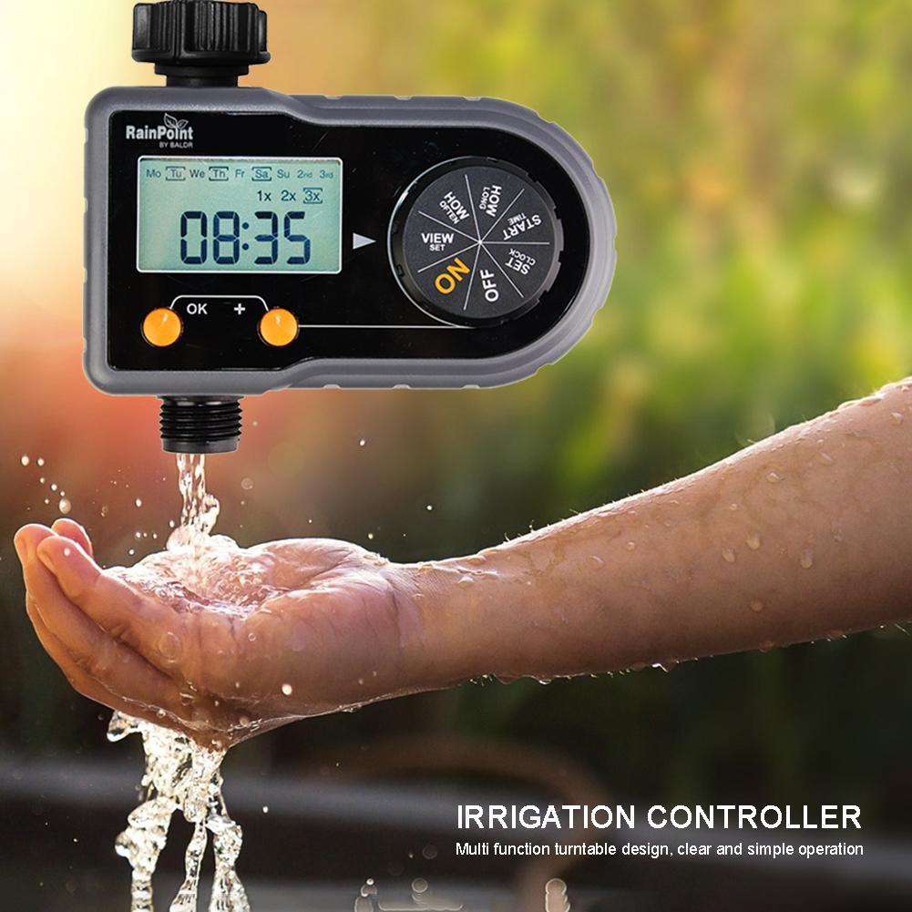 Home Garten Bewässerung Timer Controller System Bewässerung Timer Ball Ventil Automatische Elektronische Hause Schlauch Wasserhahn Autoplay