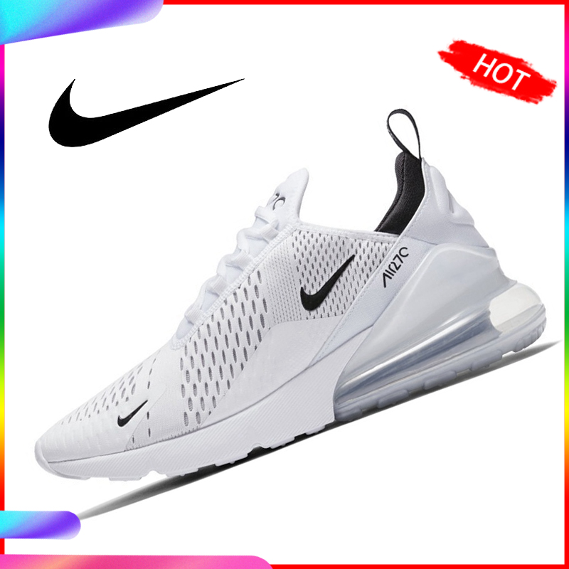 US $60.0 40% OFF|Original NIKE AIR MAX 270 Men's Running Shoes Sneakers 10KM 2018 New Arrival Sports Shoes for Men AH8050 in Running Shoes from Sports