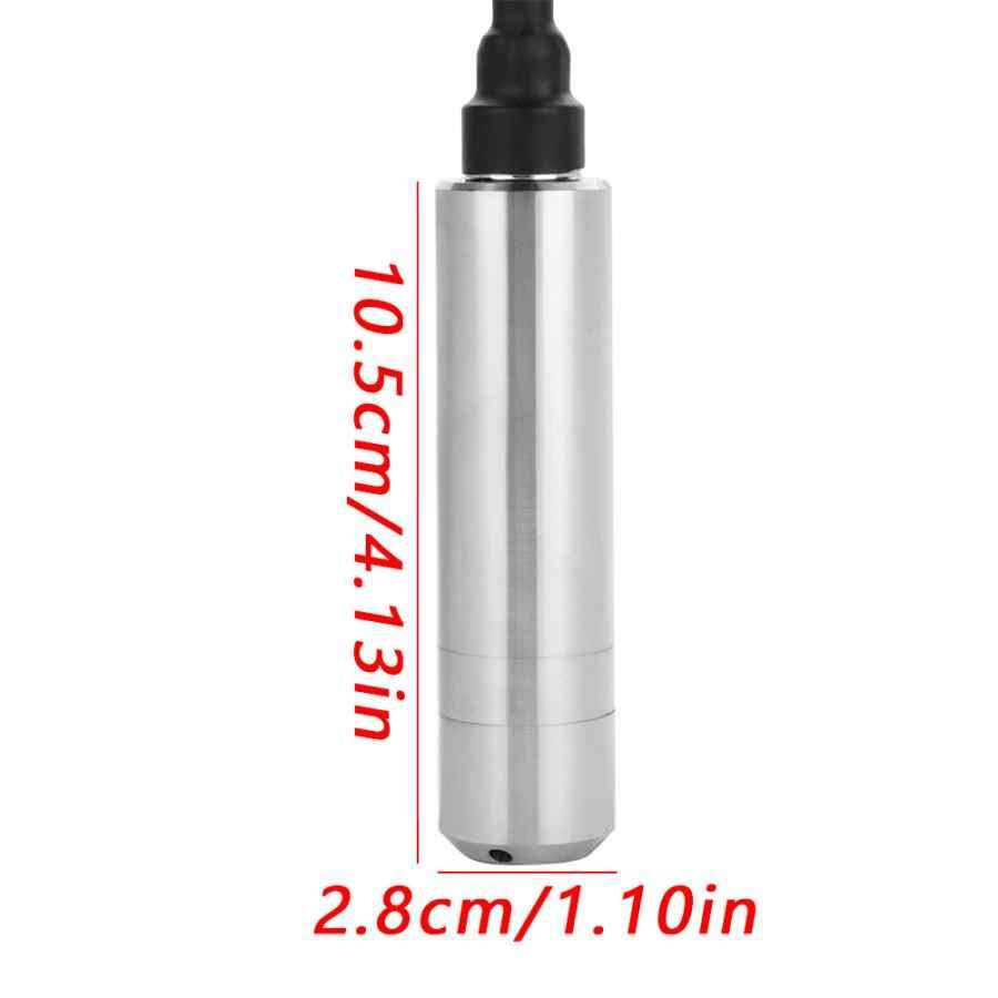 Датчик уровня, постоянный ток 24 в 4-20 мА датчик уровня жидкости для обнаружения глубины 0-5 м линейные весы Поплавковый выключатель датчик уровня