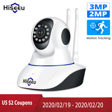 Hiseeu 1080P 1536P Ip Camera Wireless Home Security Camera Surveillance Camera Wifi Nachtzicht Cctv Camera 2mp Baby monitor(China)