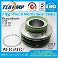 FS-90  FS90  90 мм Размер вала заменить ITT Flygt вставные механические уплотнения для Xylem Flygt 3301  5150 350  5150 360 насосов