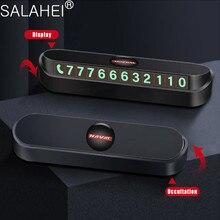 רכב זמני חניה כרטיס טלפון מספר כרטיס צלחת עבור Haval H5 H6 H7 H9 F7 F7X רכב אביזרי רכב סטיילינג מספר טלפון רכב