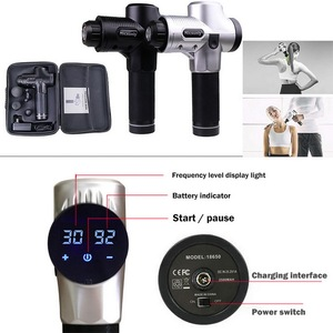 Image 3 - Pistola para massagem muscular, pistola de fisioterapia para massagem profunda, alivia dor muscular de exercícios