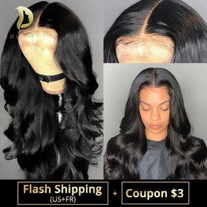 360 lace frontal human hair wig body wave lace front wigs brazilian short long full wavy 30 inch loose water for black women(China)