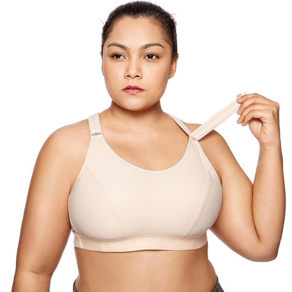 La Isla soutien-gorge de sport grande taille ajustable sans fil pour femme