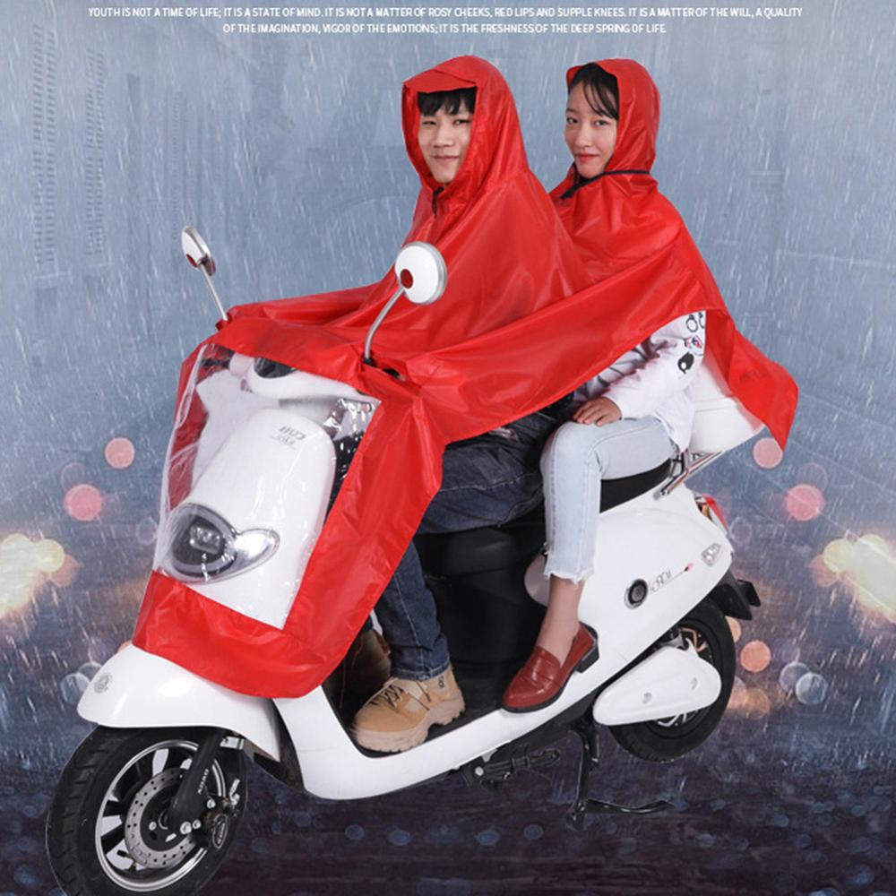 Women Raincoat Men Single Raincoat Double Raincoat Electric Bicycle Scooter Motorcycle One-piece Riding Raincoat Advertising