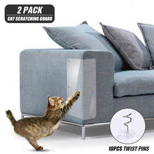 Mat Claw-Protector-Pads Guard Furniture-Sofa Couch Scratching-Post Cats 2pcs