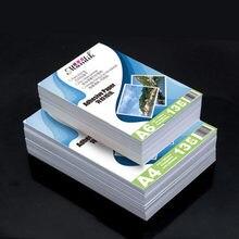 135g 150g Self-adhesive Inkjet Printing And Self-adhesive Stickers Photo Paper Inkjet Printing Stickers A4 50Sheets A6 100Sheets