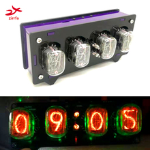 zirrfa Electronic DIY kit in12 Nixie Tube digital LED clock gift circuit board P