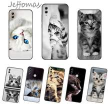 Lovely cat kitten Phone Case For Huawei Honor view 7a5.45inch 7c5.7inch 8x 8a 8c 9 9x 10 20 10i 20i lite pro(China)