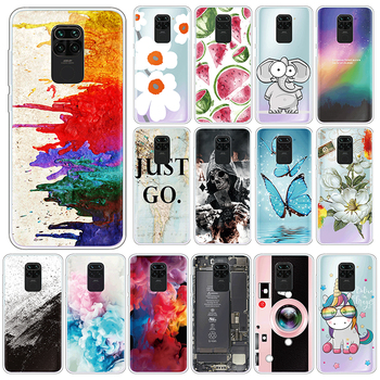 Cute Case For Xiaomi Redmi Note 9 10X 4G Soft Silicone Back Cover For Xiomi Redmi Note9 10 X 6.53 Phone Cases TPU Fundas Coque image
