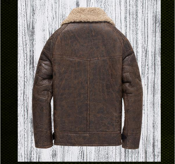 Shearling, USD giacca pelle 9