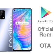 DHL Schnelle Lieferung Realme Q2 5G Smart Telefon Dimensity 800U Octa Core 6GB RAM 128GB ROM Fingerprint gesicht ID 6.5