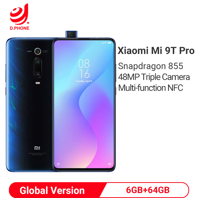 Version mondiale Xiao mi mi 9T Pro 6GB 64GB Smartphone Snapdragon 855 Octa Core 6.39