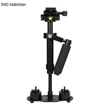 S40 40cm Aluminium Handheld Photography Video Camera Stabilizer Steadycam for Digital Camera DSLR Shooting Steadicam Camcorder